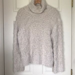 Zara Cowl Neck Oversized Sweater